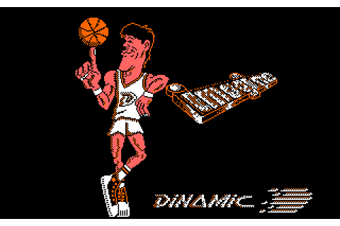 Basket Master (1987) by Dinamic / Imagine Amstrad CPC game