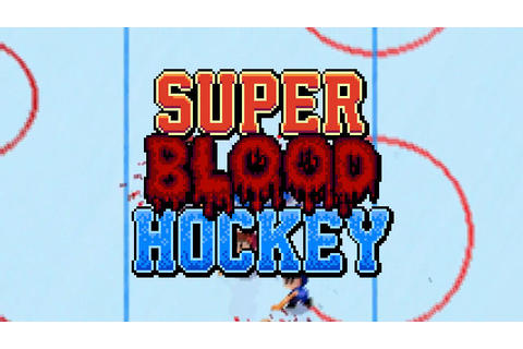 Super Blood Hockey: Steam teaser trailer - YouTube