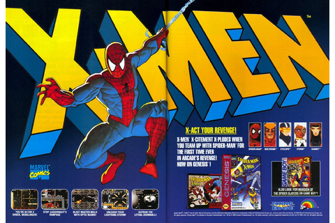 Spider-Man and the X-Men: Arcade's Revenge, Formally Known ...