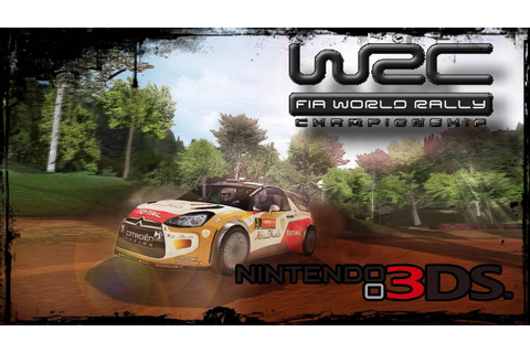 WRC FIA World Rally Championship | 3DS Gameplay demo - YouTube