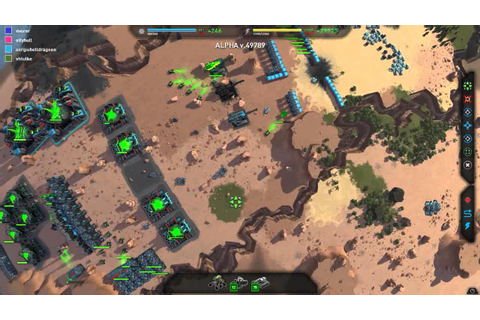 Planetary Annihilation : Amazing Match | Combat Gameplay ...