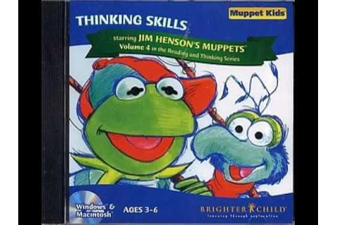 Muppet Kids - Thinking Skills (CD-ROM, Game 1990's) - YouTube