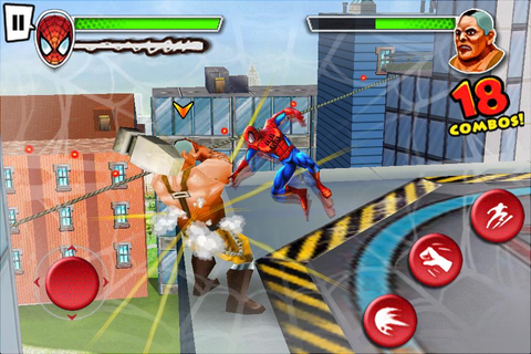 Ultimate Spider-Man: Total Mayhem | Articles | Pocket Gamer
