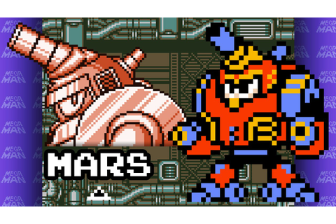 Mega Man V (Game Boy) - Mars theme in 8-bit - YouTube