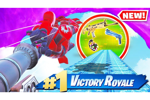 HUMAN CANNONBALL SLIP & SLIDE *NEW* Game Mode In Fortnite ...