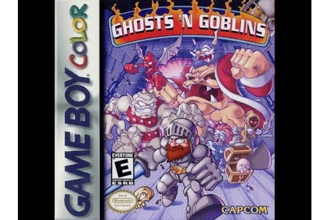 Game Boy Color Ghosts 'n Goblins Video Walkthrough - YouTube