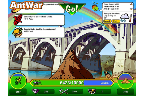 Ant War PC Review | GameWatcher