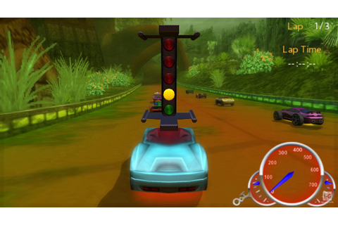 Hot Wheels Ultimate Racing PSP Gameplay HD - YouTube