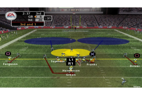 PS2 - Madden NFL 2005 Gameplay - YouTube