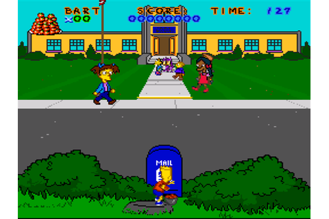 The Simpsons - Virtual Bart Download Game | GameFabrique