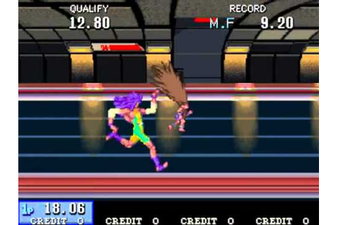 Mach Breakers - Numan Athletics 2 MAME Gameplay video ...