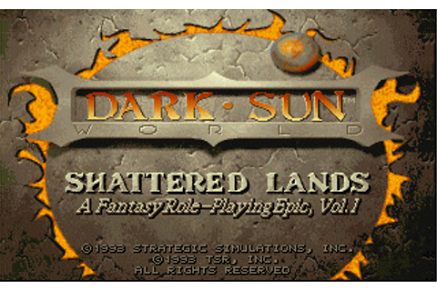 Dark Sun: Shattered Lands Details - LaunchBox Games Database