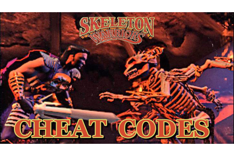 Skeleton Warriors (PS1) CHEAT CODES - YouTube