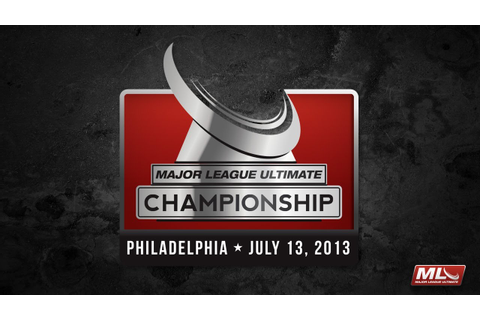 Major League Ultimate 2013 Championship Game - YouTube