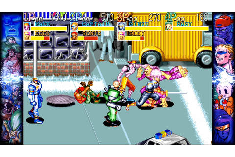 Capcom Beat 'Em Up Bundle Announced With Seven '90s Classics