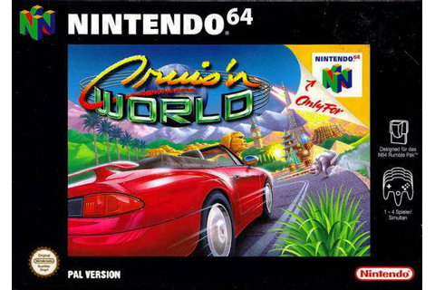 Cruis'n World Nintendo 64 - JuegosADN