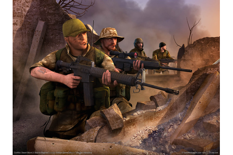 Download desktop wallpaper Computer Game Conflict desert ...