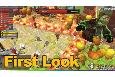 MapleStory 2 Gameplay First Look - MMOs.com - YouTube