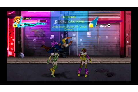 Double Dragon Neon Gameplay PC HD - YouTube