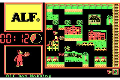 ALF: The First Adventure (1987) MS-DOS game