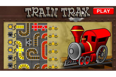Retro Train Trax | Play Free Online Kids Games | CBC Kids