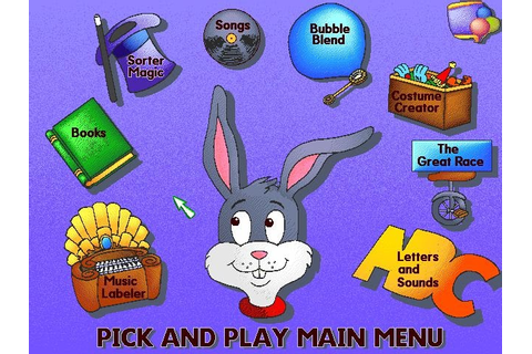 Computer games for toddlers: Toddler games - Reader Rabbit ...