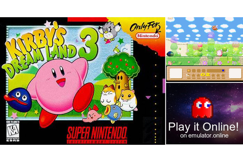 Play Kirby's Dream Land 3 on Super Nintendo