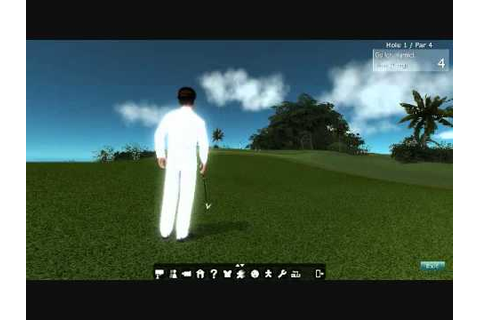 Blue Mars Game Development Example: Golf - YouTube