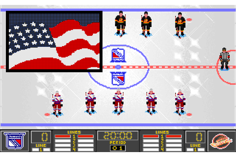 NHL 95 Screenshots for DOS - MobyGames