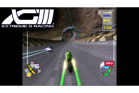 XG3: Extreme G Racing ... (PS2) - YouTube
