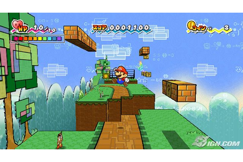 Latest Super Paper Mario screens! - System Wars - GameSpot