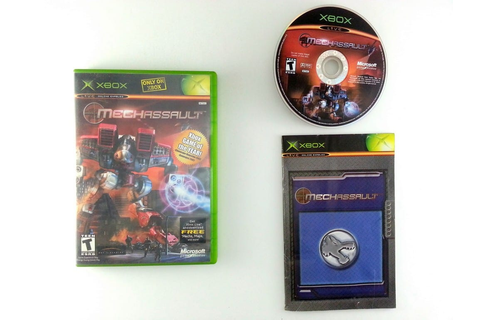 MechAssault game for Xbox (Complete) | The Game Guy