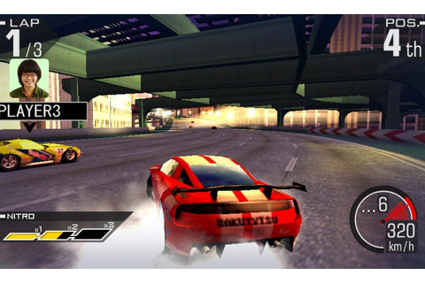 Ridge Racer 3D (3DS) Screenshots