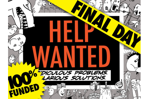 Help Wanted by Baca Forrest Games —Kickstarter