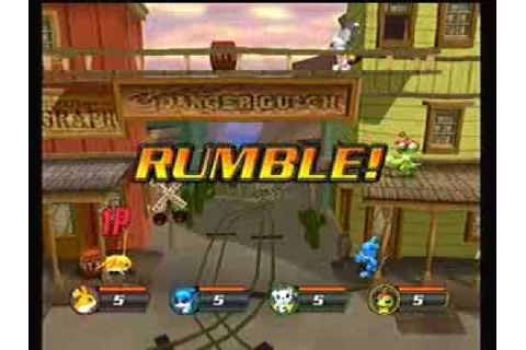 Digimon Rumble Arena 2 Gamecube Game - Patamon Vs. Veemon ...