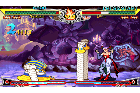Arcade Setups Keep The Dream Of Competitive Darkstalkers 3 ...