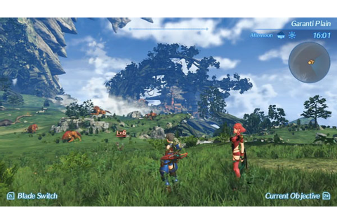 39 minutes of Xenoblade Chronicles 2 gameplay - Gematsu