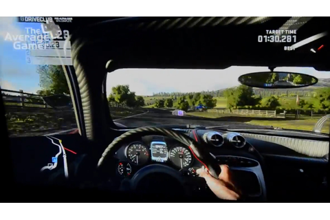 E3 2013: Driveclub Hands-On Gameplay (PS4) - The Average Gamer