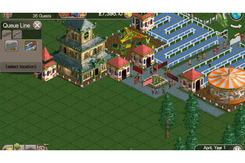 RollerCoaster Tycoon Classic Android Gameplay Video. - YouTube