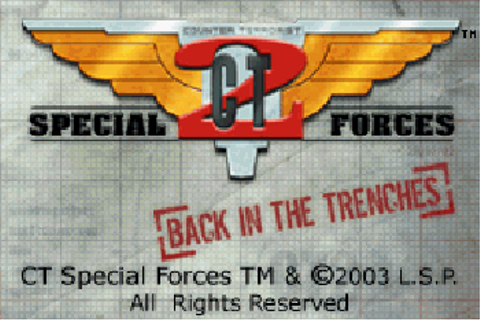 CT Special Forces Back to Hell - Symbian game. CT Special ...