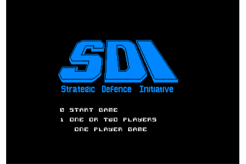 Download SDI: Strategic Defense Initiative - My Abandonware