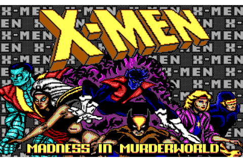 X-Men: Madness in Murderworld (1989) by Paragon Software ...