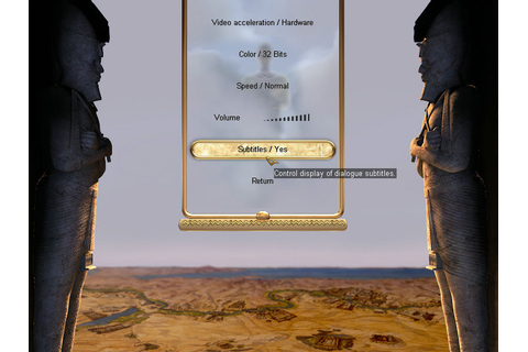 The Egyptian Prophecy (Windows) - My Abandonware