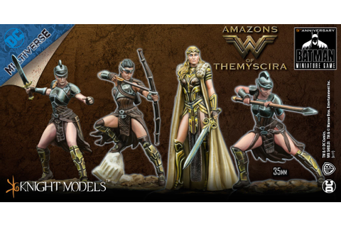 Wonder Woman & The Amazons Lead The Way For Knight Models ...