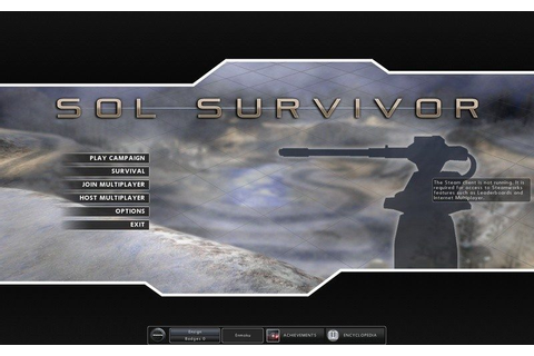 Sol Survivor (2010) by Cadenza Interactive Windows game