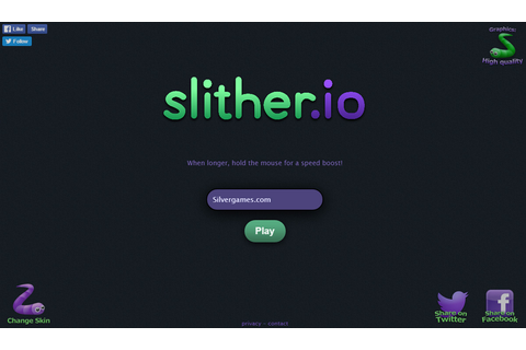 Slither .io - Free Online Game on Silvergames.com