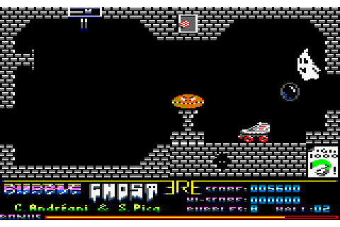Bubble Ghost (1988) by ERE Informatique Amstrad CPC game