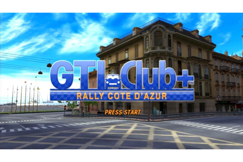 GTI Club+: Rally Côte d'Azur (PS3) - YouTube