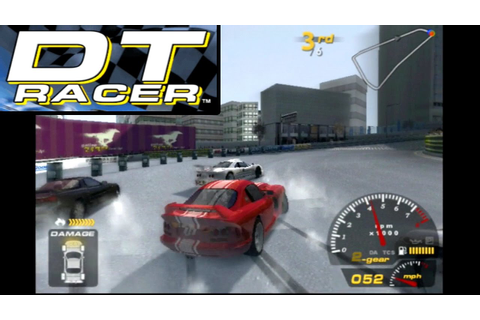 DT Racer ... (PS2) - YouTube