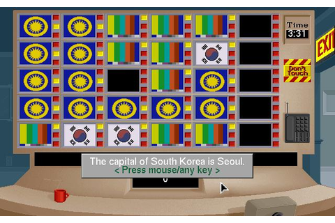Mystery at The Museums Download (1993 Educational Game)